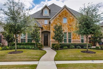 Keller Single Family Home For Sale: 1524 Wagonwheel Trail