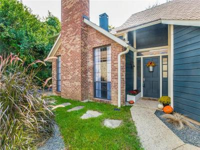 Carrollton Single Family Home Active Option Contract: 2516 Lake Bend Terrace