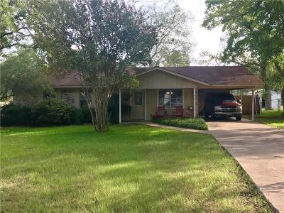 Grand Saline Single Family Home Active Option Contract: 919 W Hatton Street