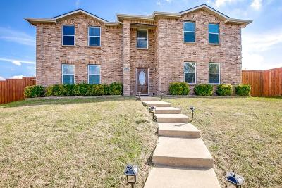 Mesquite Single Family Home Active Option Contract: 2636 Guadalupe Drive