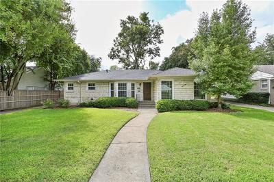 Dallas Single Family Home For Sale: 6414 Anita Street