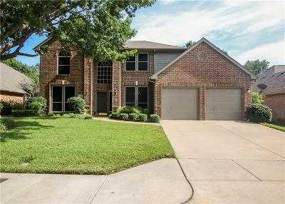 Fort Worth Single Family Home For Sale: 6408 Stone Creek Trail