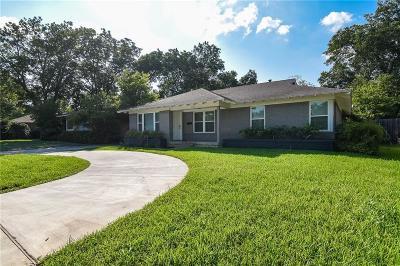 Dallas County Single Family Home For Sale: 7119 E Mockingbird Lane #L