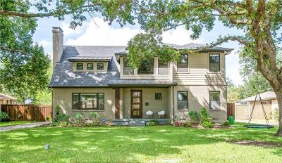 Dallas Single Family Home For Sale: 9727 Champa Drive