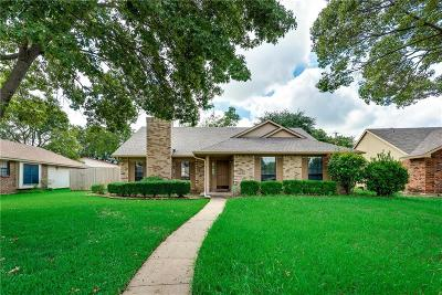 Plano Single Family Home Active Option Contract: 1452 Colmar Drive