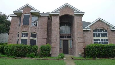 Garland Single Family Home For Sale: 1742 Lordsburg Drive