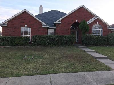 Mesquite Single Family Home For Sale: 1728 Chapman Drive