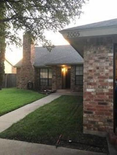 Denton Single Family Home For Sale: 2005 Parkside Drive