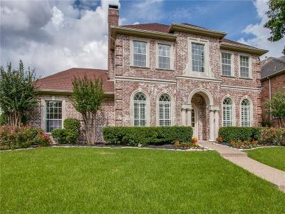 Plano Single Family Home Active Option Contract: 5921 Stone Meadow Drive