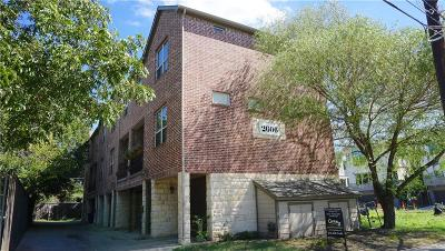Dallas County Townhouse For Sale: 2606 N Henderson Avenue #A