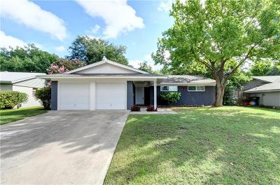 Fort Worth TX Single Family Home For Sale: $164,900