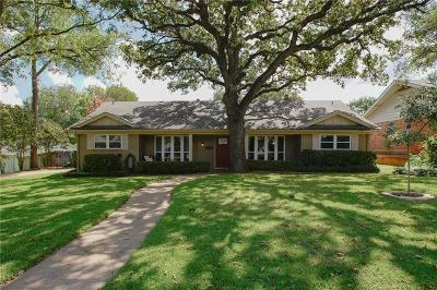 Euless Single Family Home Active Option Contract: 1905 Windlea Drive