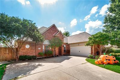 Sachse Single Family Home Active Option Contract: 5706 Summit Knoll Trail