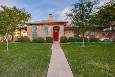 Garland Single Family Home Active Option Contract: 725 Brookfield Drive