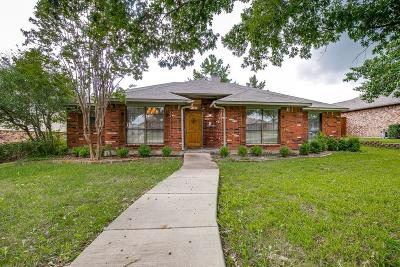 Mesquite Single Family Home Active Option Contract: 1908 Chippewa Trail