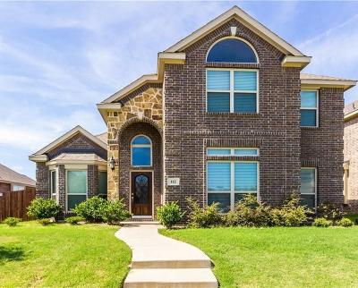 Red Oak Single Family Home Active Contingent: 112 Post Oak Drive