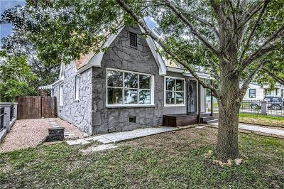 Fort Worth TX Single Family Home For Sale: $189,997