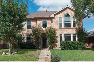 Carrollton Single Family Home Active Option Contract: 1835 Dew Valley Drive