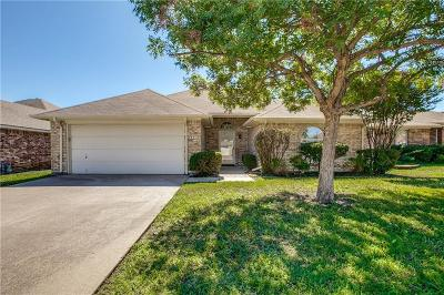 Keller Single Family Home Active Option Contract: 962 Indian Blanket Drive