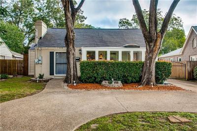 Single Family Home For Sale: 5118 Denton Drive