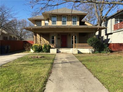 Dallas County Single Family Home For Sale: 627 Elsbeth Street