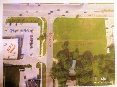 Denton Commercial Lots & Land For Sale: 0000 Ector Street