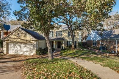 Grapevine Single Family Home For Sale: 714 Preston Place