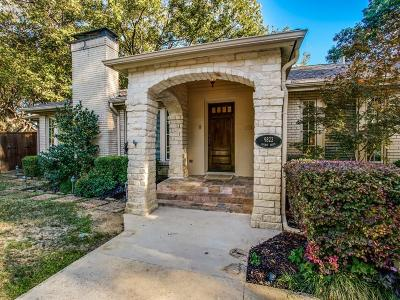 Dallas Single Family Home For Sale: 9822 Galway Drive