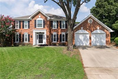 Grapevine Single Family Home Active Option Contract: 3210 Mapleridge Drive