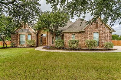 Aledo Single Family Home Active Option Contract: 101 Black Oak Drive
