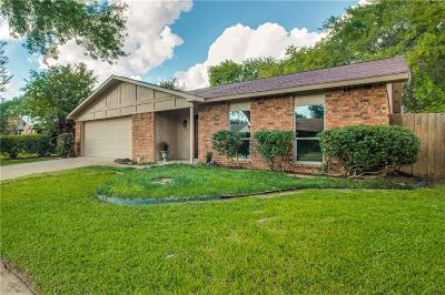 Fort Worth Single Family Home Active Option Contract: 7613 Four Winds Drive