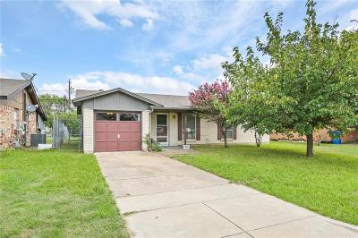 Blue Mound Single Family Home Active Option Contract: 609 Globe Avenue