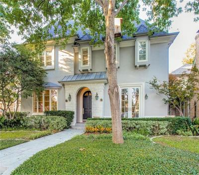Highland Park, University Park Single Family Home Active Option Contract: 4048 Amherst Avenue