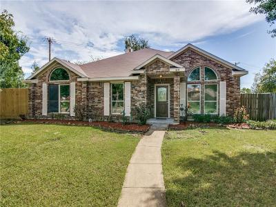 Rowlett Single Family Home For Sale: 8018 Wayne Circle