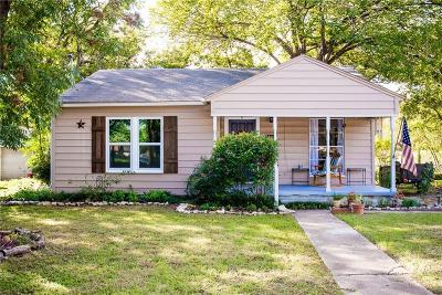 Carrollton Single Family Home Active Contingent: 1203 W Alan Avenue