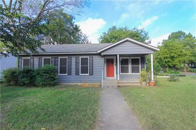 Hurst Single Family Home Active Option Contract: 325 Norwood Drive
