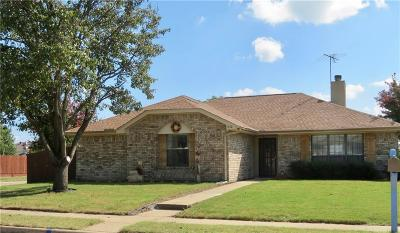 Allen Single Family Home For Sale: 1532 Evergreen Drive