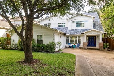 Dallas Single Family Home Active Option Contract: 6906 La Vista Drive