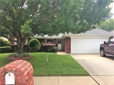 Saginaw Single Family Home Active Contingent: 1035 Roundrock Drive