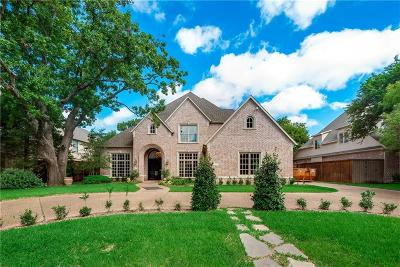 Dallas County Single Family Home For Sale: 6531 Brookshire Drive
