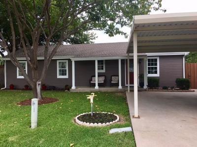 Frisco Single Family Home Active Option Contract: 12030 Mimosa Lane