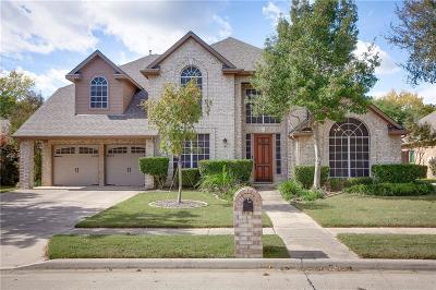 Flower Mound Single Family Home Active Option Contract: 717 Crestfield Drive