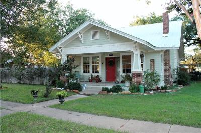 Cisco Single Family Home For Sale: 1000 W 6th Street