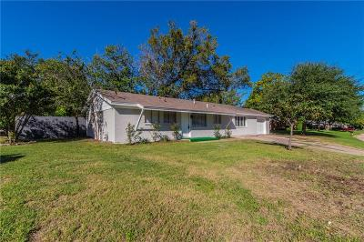 White Settlement Single Family Home Active Option Contract: 1101 Dell Street