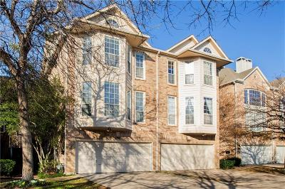 Dallas County Townhouse For Sale: 4123 Wycliff