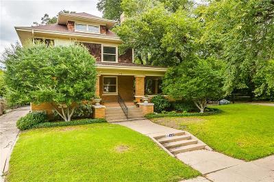 Fort Worth Single Family Home For Sale: 1112 Elizabeth Boulevard