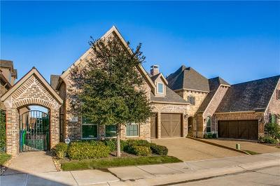 Lewisville Single Family Home Active Option Contract: 641 The Lakes Boulevard
