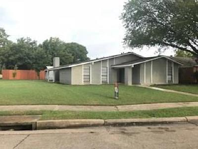 Mesquite Single Family Home For Sale: 4201 Woodbluff Drive