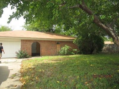 Haltom City Single Family Home Active Option Contract: 5829 Denise
