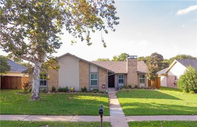 Plano Single Family Home Active Option Contract: 3317 Newkirk Drive